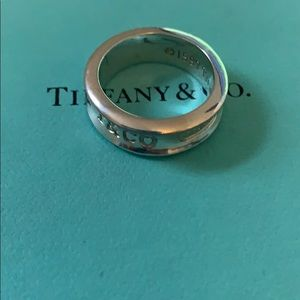 Tiffany and Co. Ring size 7/7.5